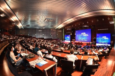 More than 600 people participated onsite and 238,000 watched through live streaming of the Ninth International Forum on Project Management.