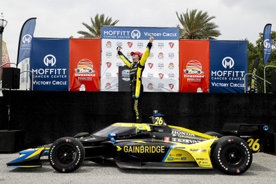Colton Herta dominated today's Firestone Grand Prix of St. Petersburg for Honda's second consecutive win in the 2021 NTT INDYCAR SERIES.