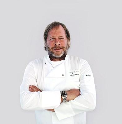El chef y propietario David Kinch