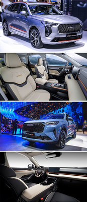 HAVAL JOLION and 3rd Gen HAVAL H6 appearance and interior design