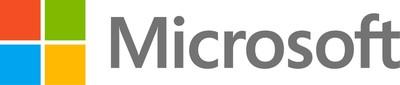 Microsoft company logo. (PRNewsFoto/Microsoft Corp.)