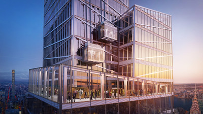 SL Green reveals a first look at Summit One Vanderbilt's 65,000 square foot multi-sensory experience including an outdoor summit terrace.
