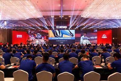 XCMG publica el Informe de desarrollo sostenible de la cadena industrial de elevación 2021 (China). (PRNewsfoto/XCMG)