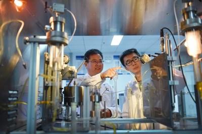 Sinopec inició el primer proyecto de captura, uso y almacenamiento de carbono (CCUS) en megatones de China: el proyecto CCUS de yacimientos petrolíferos Sinopec Qilu-Shengli. (PRNewsfoto/SINOPEC)